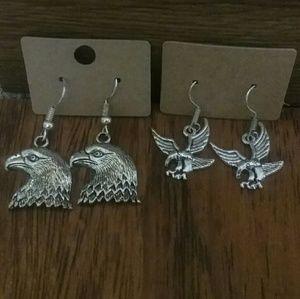 Eagle Earrings Duo